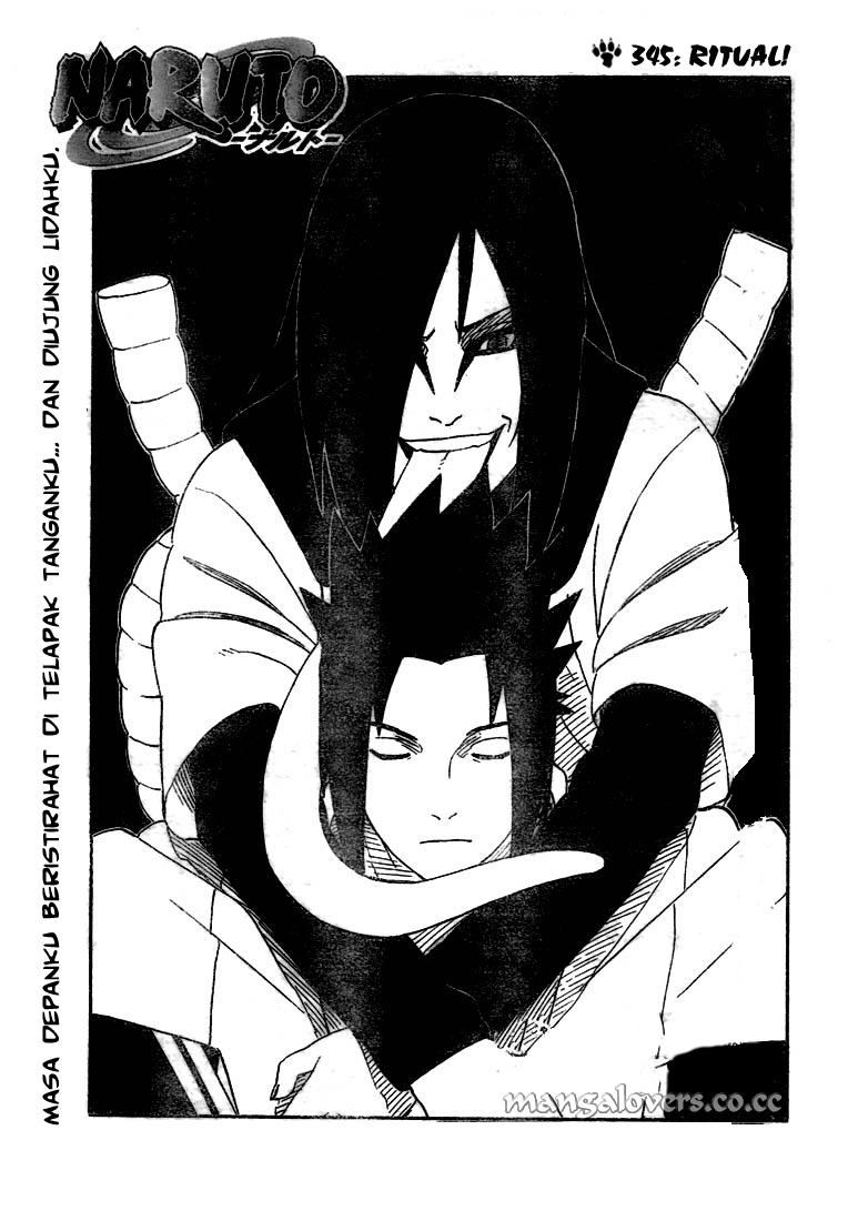 Baca Komik Online Manga Naruto Bahasa Indonesia chapter 345